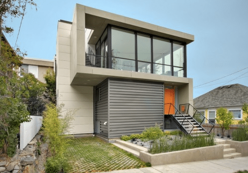 100 m duplex house prefab houses lebanon for Modern house lebanon